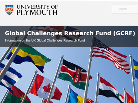 GCRF Rapid Response fund awarded